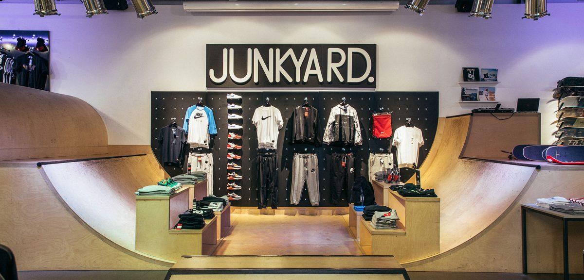Junkyard – Katumuotia ja skeittitarvikkeita Ruotsista